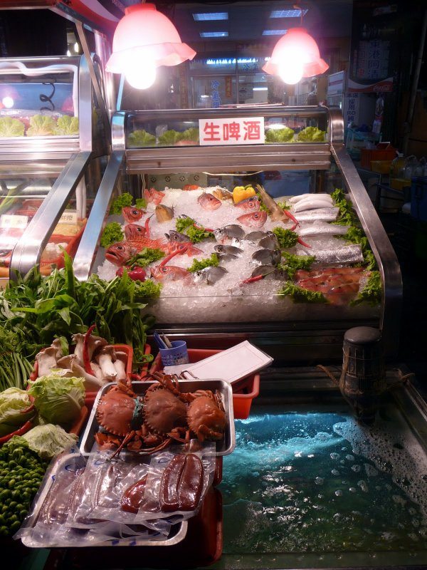 Night Market fish stall