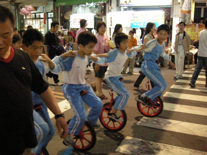 Unicyclists