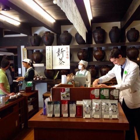 Ippodo store in Kyoto