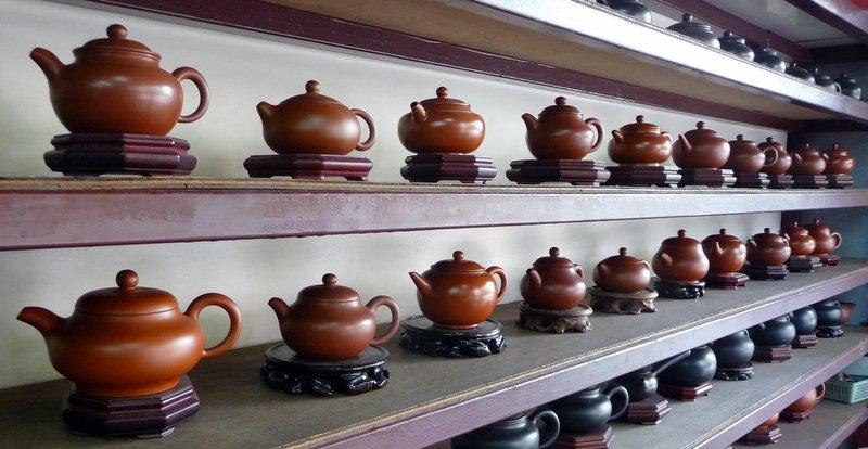 Yixing pots