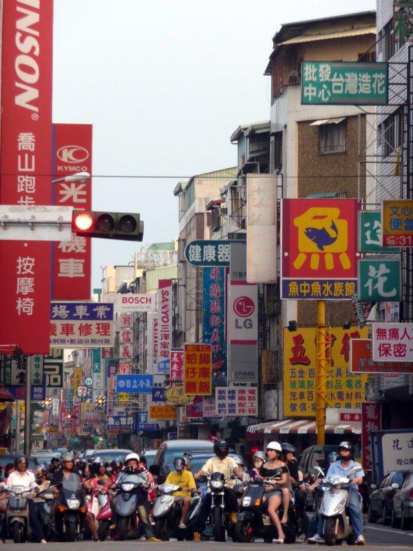 Taiwan traffic