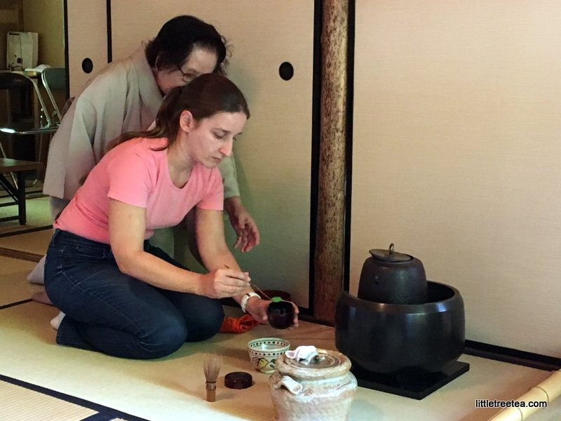 learning tea ceremony