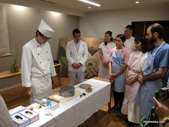 learning to make wagashi